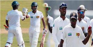 Sri Lanka win 1st test by 10 wickets