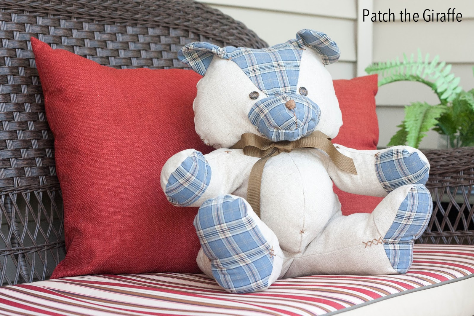 how to make teddy bear at home with cotton