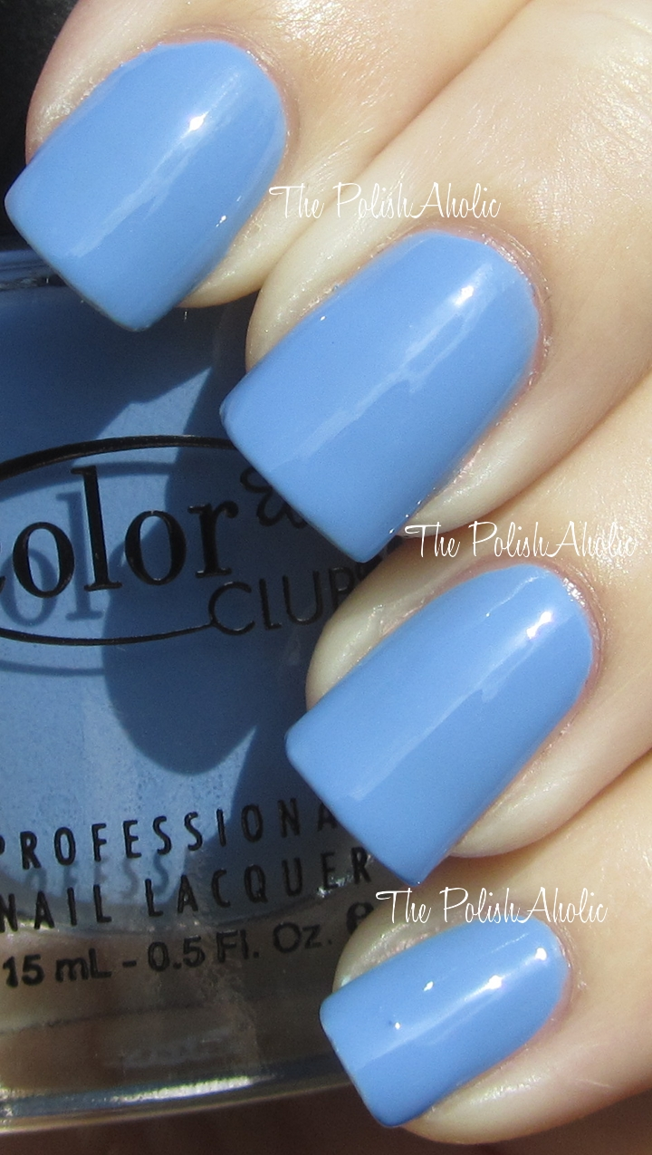 The PolishAholic: Color Club Spring 2012 Blossoming Collection Swatches!