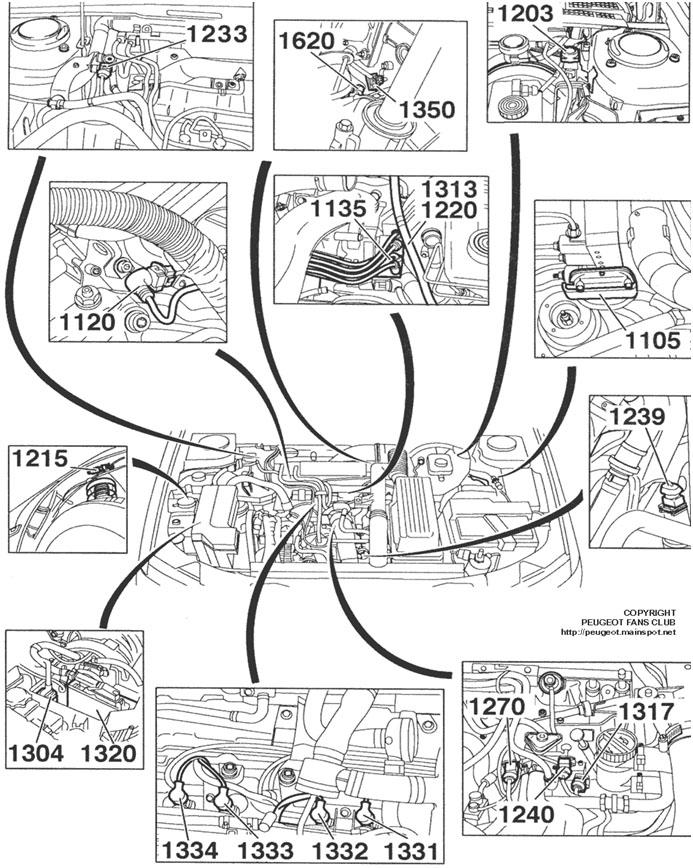 bengkel peugeot solo  art motor   peugeot 406 rgx  xu10j2cte  engine