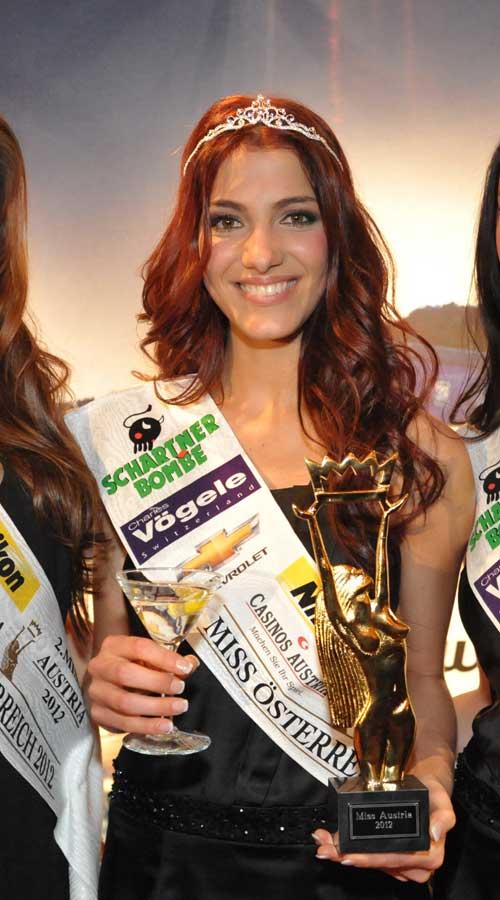 Miss Austria Wahl 2012,Miss Austria 2012