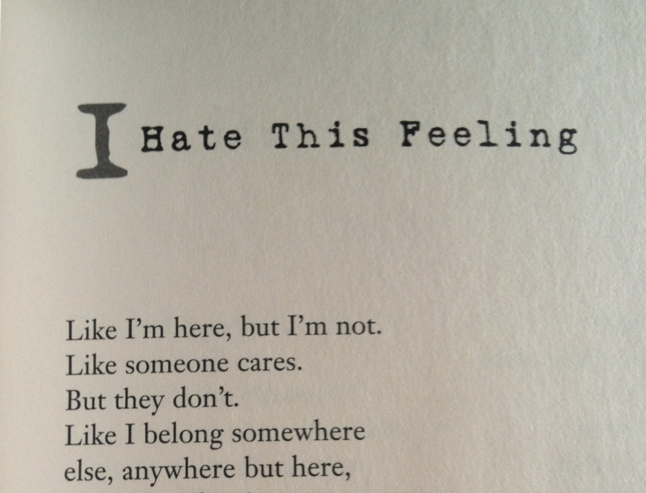 Feeling Like No One Cares Quotes. QuotesGram