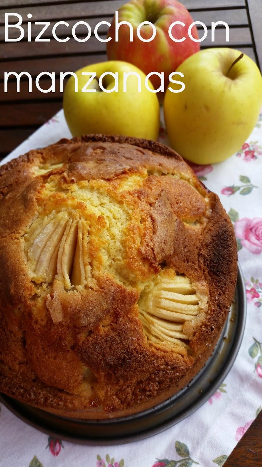 Las cosas de mi cocina bizcocho con manzanas for Cocina con sergio bizcocho