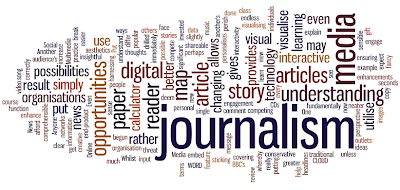 technology journalism digital multimedia wordcloud