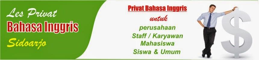 PRIVAT BAHASA INGGRIS
