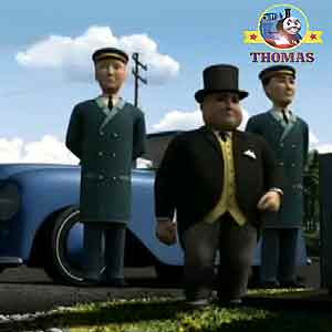 Island of Sodor funfair organ Sir Topham Hatt said Thomas steam locomotive train Percy and friends