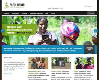 Radio e internet para ayudar a los agricultores de África