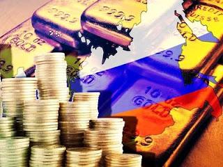 Золотовалютные резервы России упали еще на $2 млрд