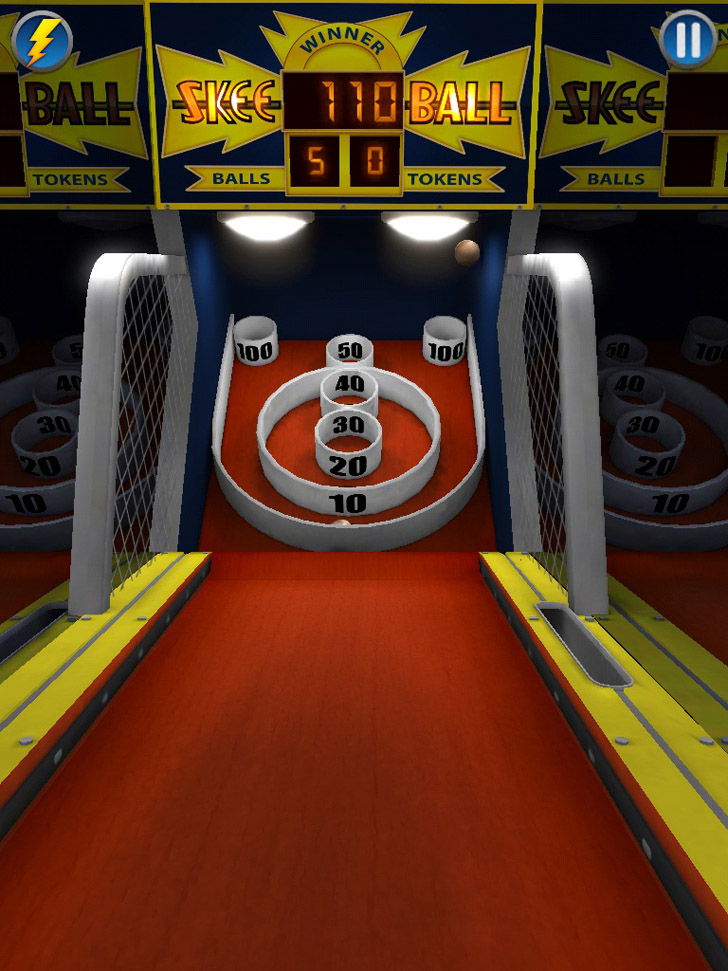 Skee-Ball 2 Free App Game By Freeverse Inc