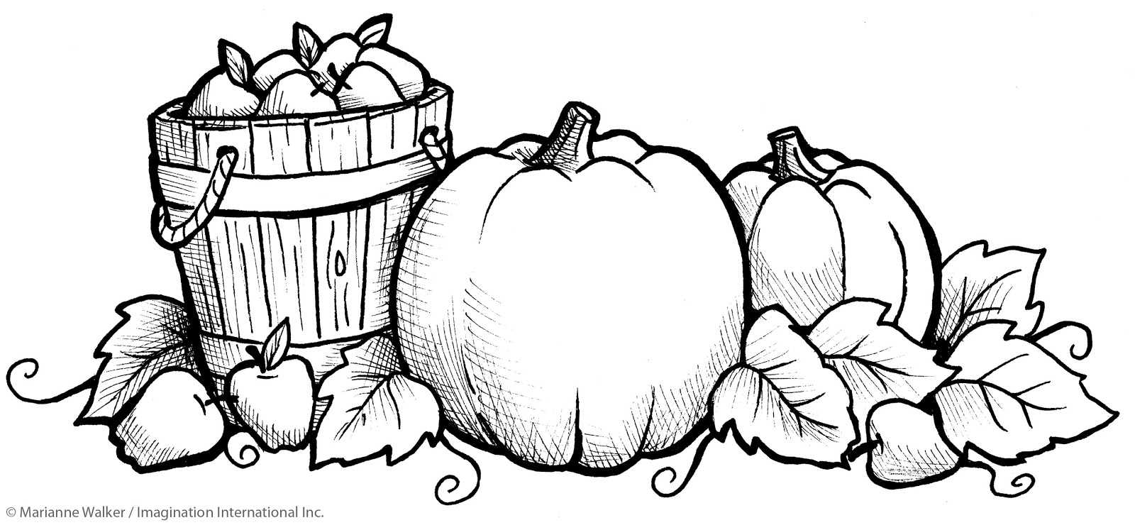 I Like Markers Fall Pumpkins Class Freebie