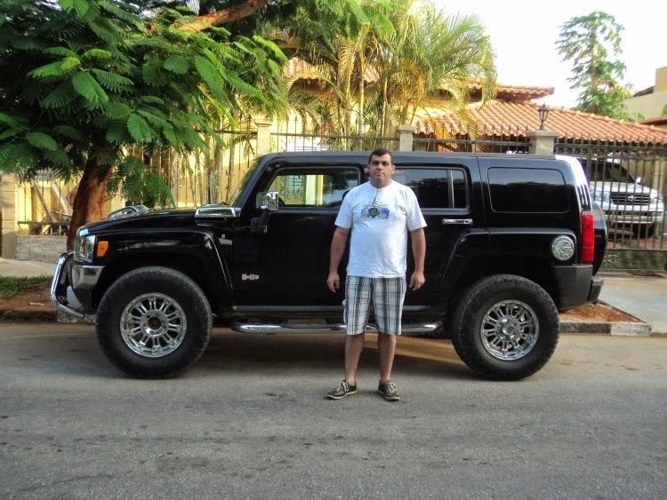 De Hummer H3 em Luanda/Africa