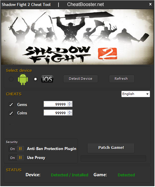 shadow fight 2 hack gems and coins