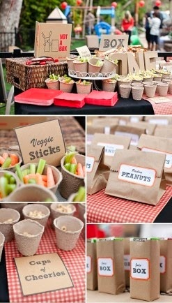 Earth Day Fun - Cardboard And Trash Party Ideas