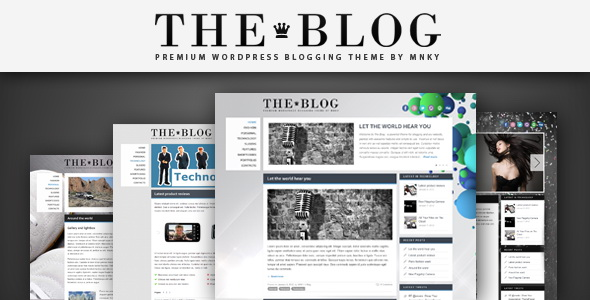 ThemeForest - The Blog WordPress Theme