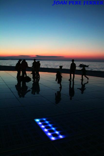 Saludo al sol en Croacia