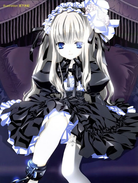 dark&gothic anime