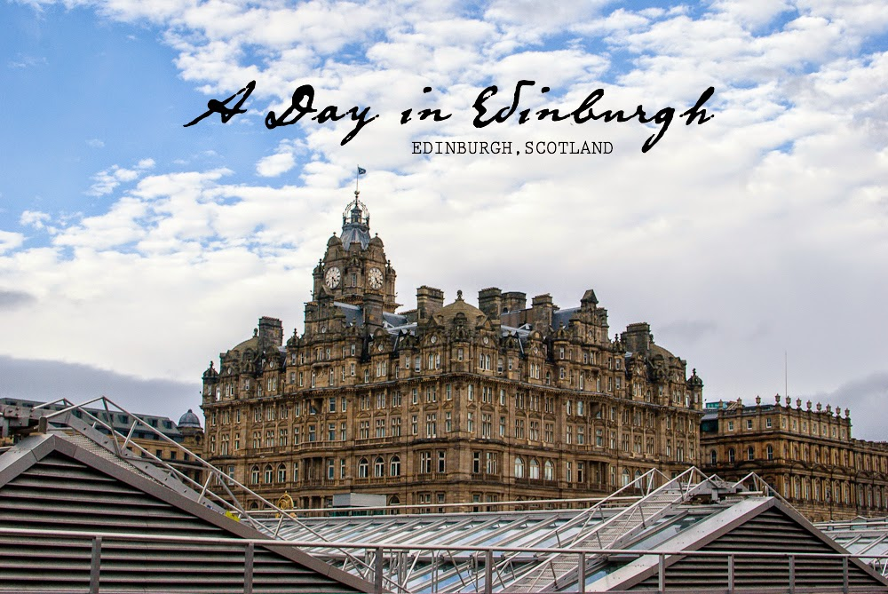 Spending a day in Edinburgh city
