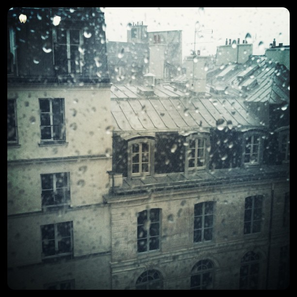 view from my window on Rue Richelieu, Paris