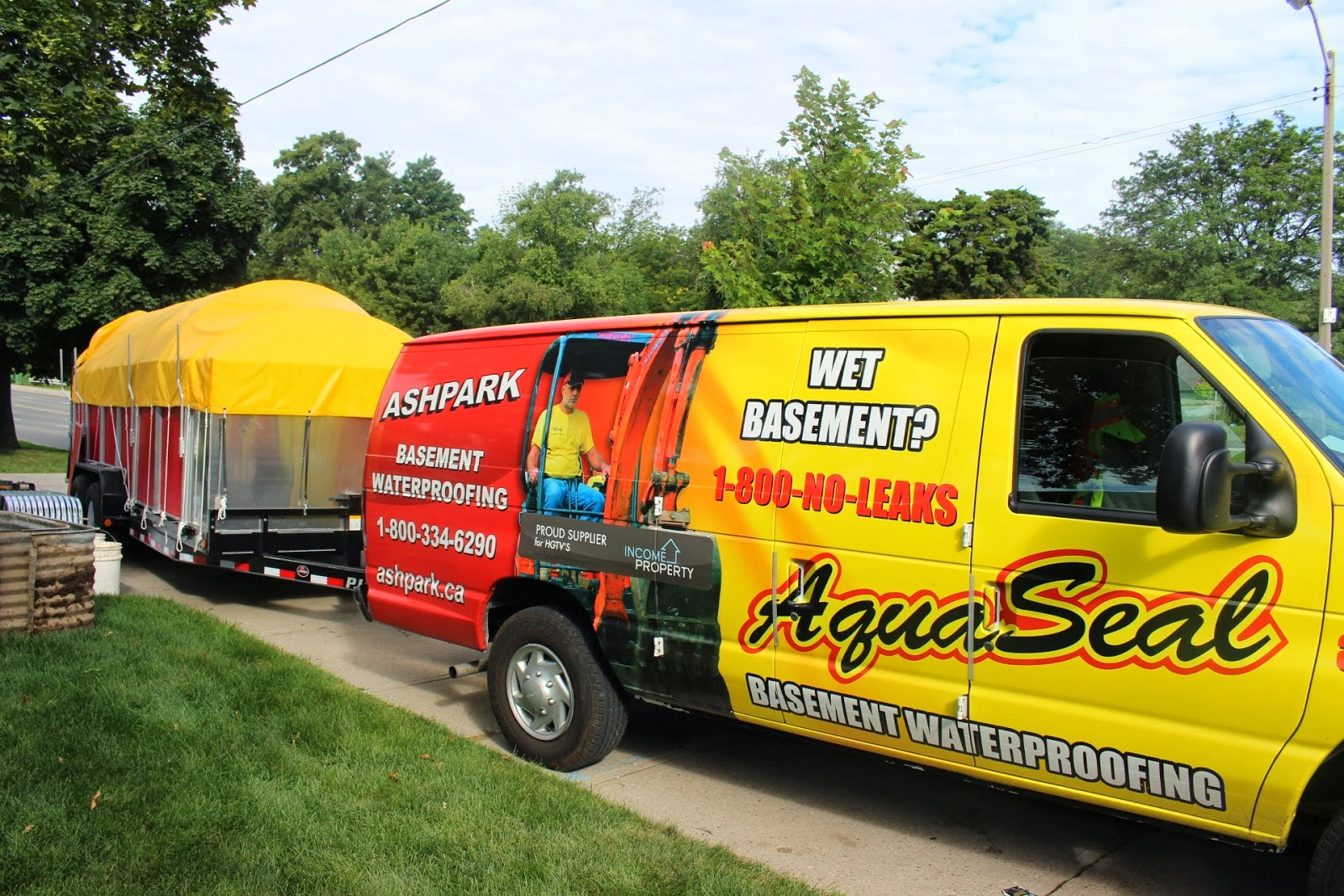 Aquaseal Foundation Epoxy Concrete Crack Repair Specialists 1-888-750-0848
