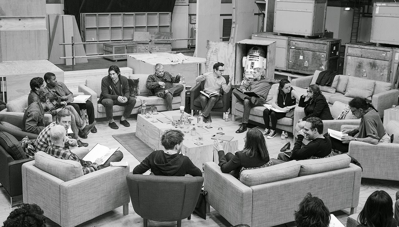 star wars vii cast photo