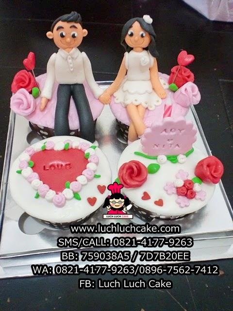 Cupcake Hadiah Pernikahan Daerah Surabaya - Sidoarjo