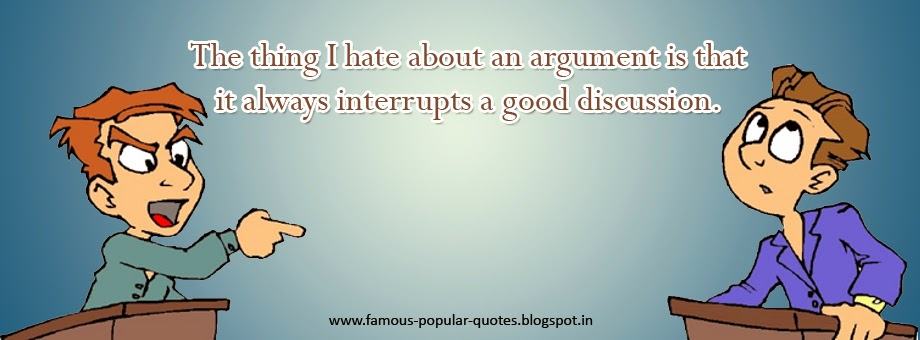 Quotes On Argument