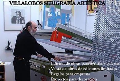 TALLER VILLALOBOS SERIGRAFÍA  ARTÍSTICA