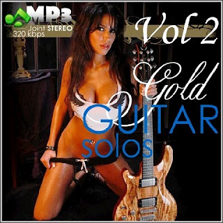 Capa do álbum Gold Guitar Solos (2013)