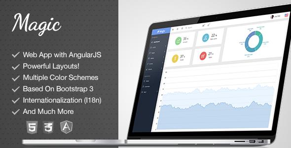 Best AngularJS Admin Templates