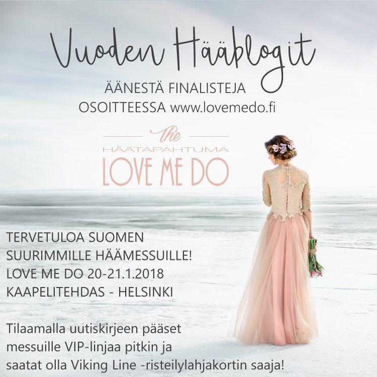 Vuoden hääblogi 2018 finaali!