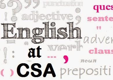 English at CSA