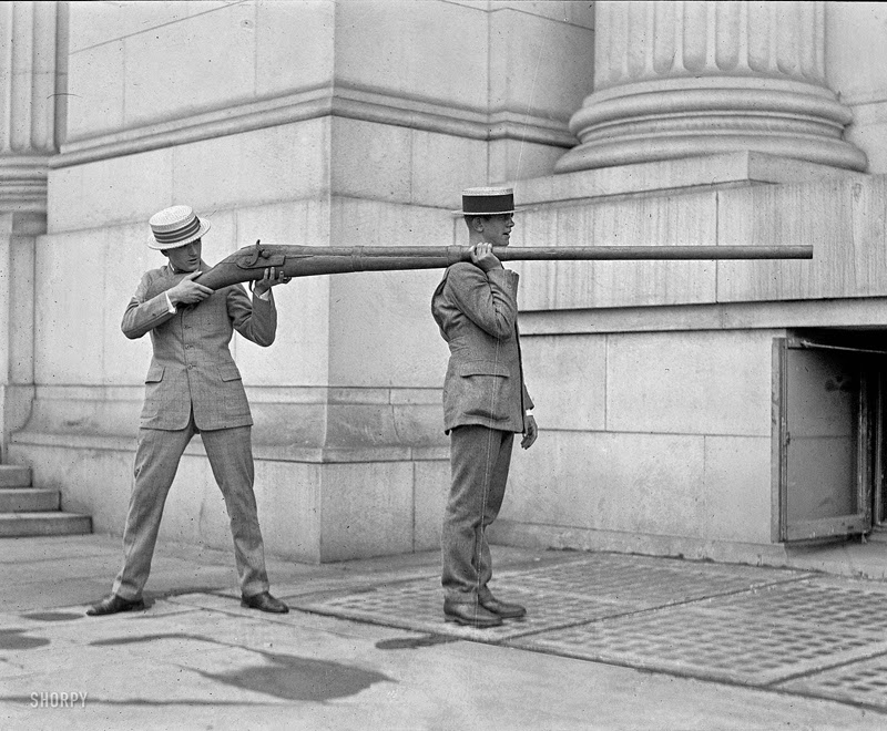 This punt gun was capable of discharging over a pound of shot at a time and could kill over 50 birds.