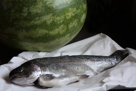 ปลาแห้งแตงโม