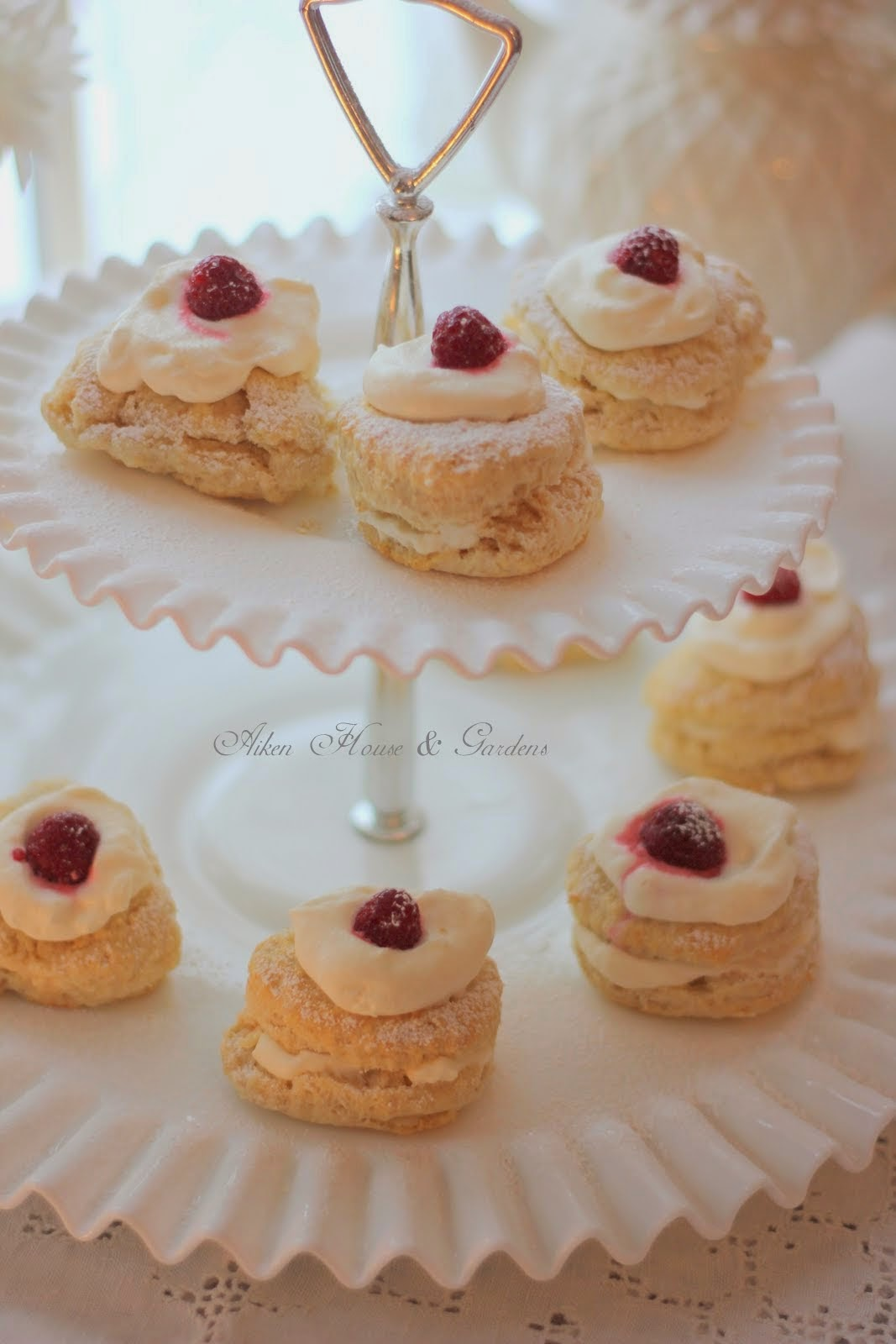 My Scones recipe was mentioned on Aiken House & Gardens blog