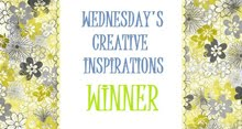Creative Inspirations Winner