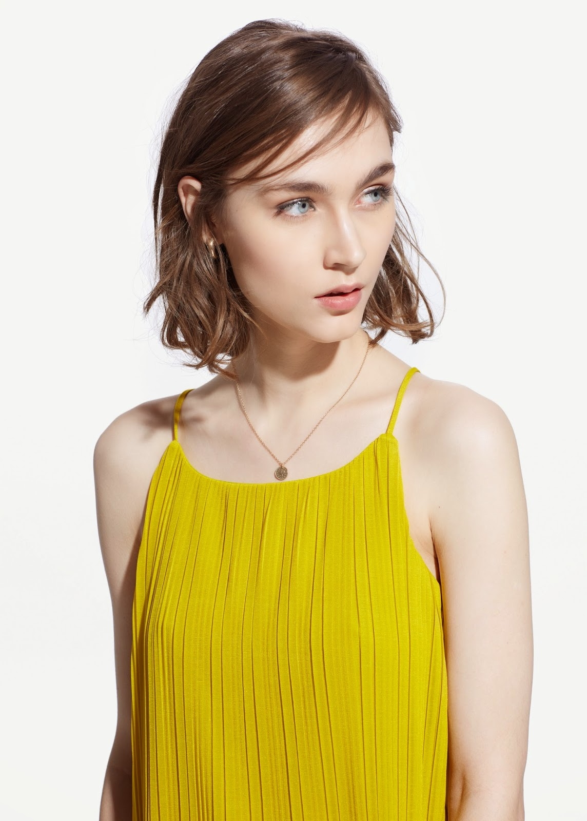 mango yellow vest top