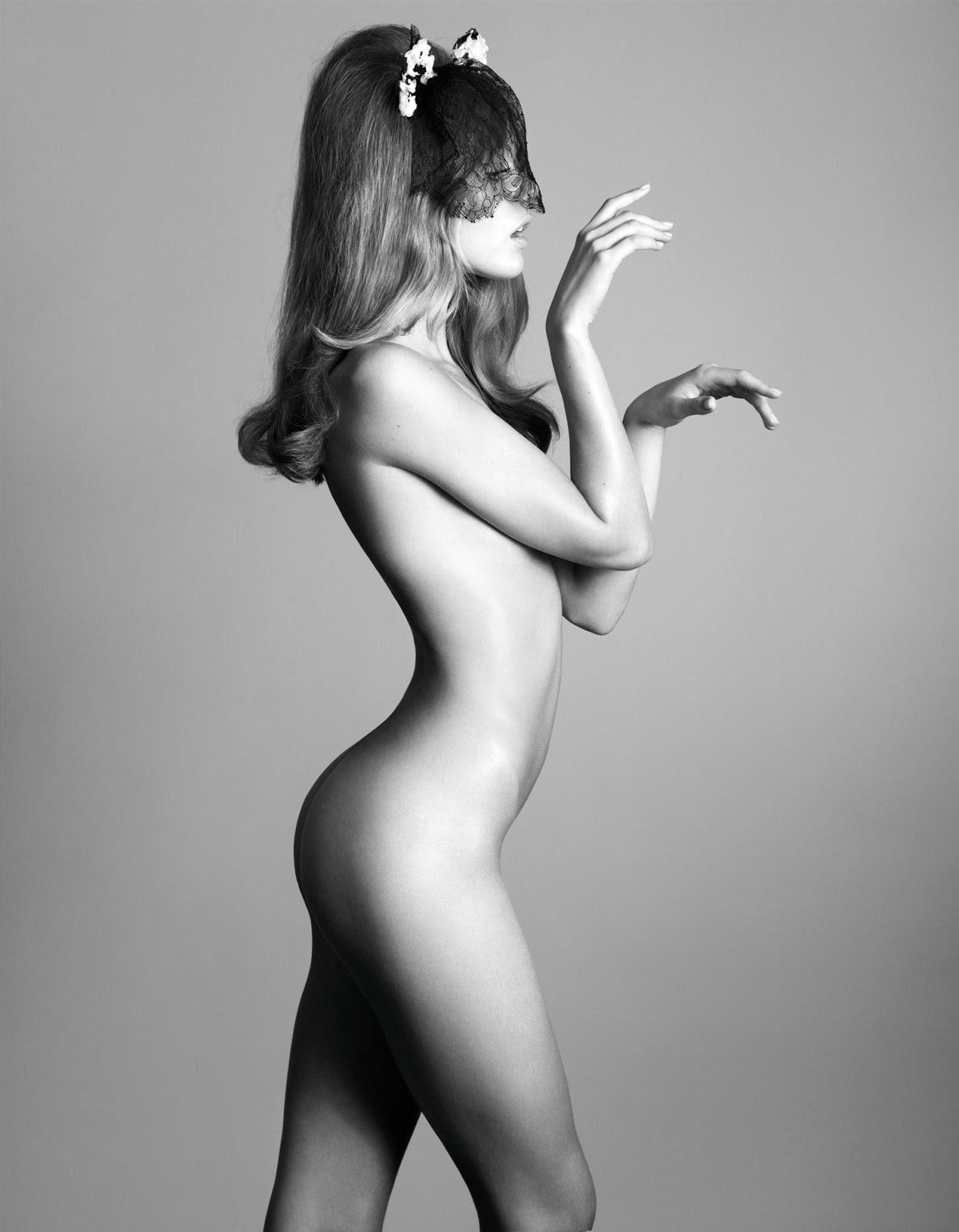 Frida Gustavsson Naked In Magazine