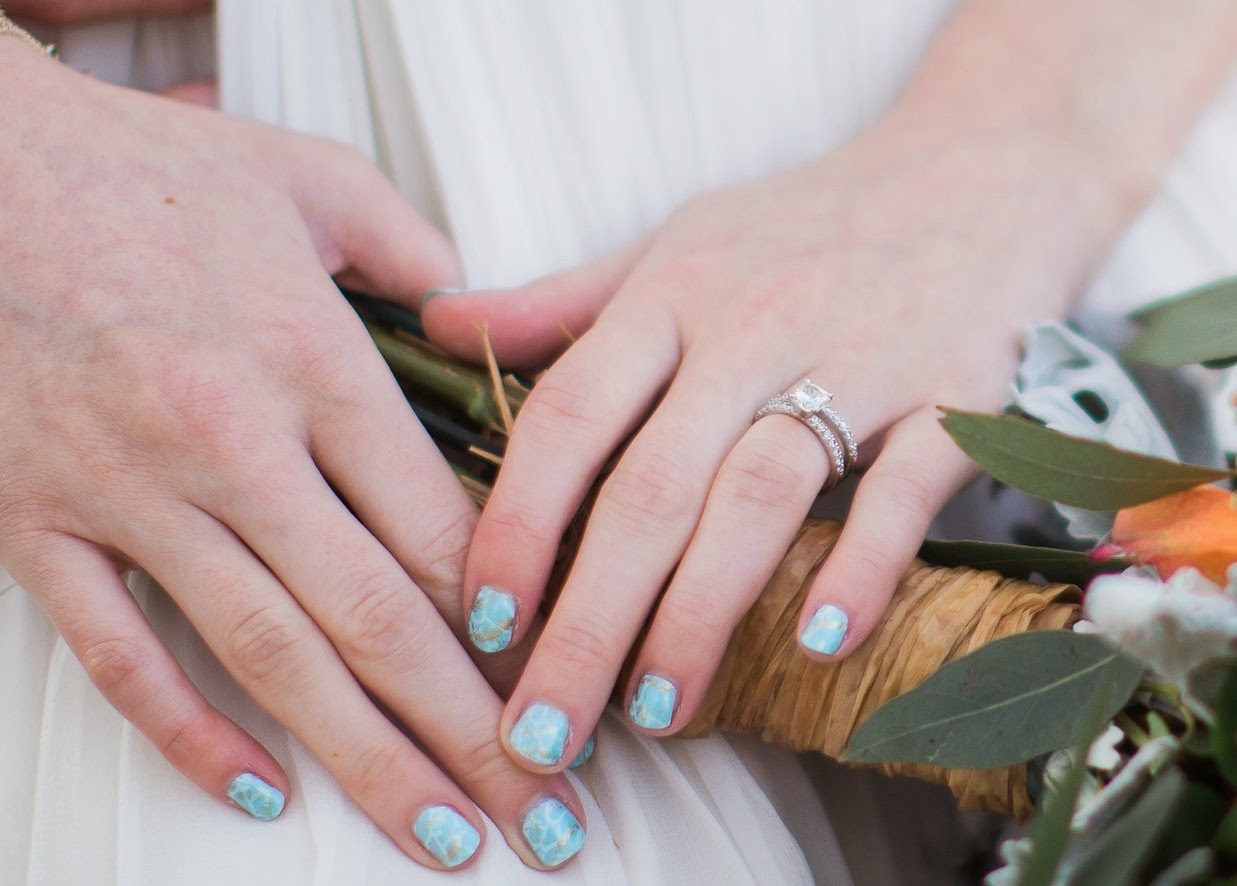 Lace and Lacquers: Turquoise Inspired Boho Chic Nail Art + TUTORIAL!