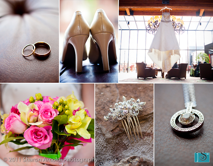 Photos by sharon sharonsphoto colorado springs wedding the bridesmaids wore black dresses and the pink yellow and green flowers added a perfect pop of color mightylinksfo