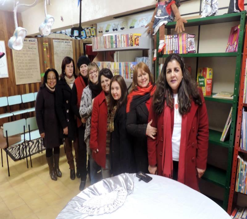 Professores da Escola Arnaldo Faria - Bagé