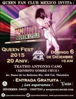 6 DIC QUEEN FEST MEXICO TEATRO ANTONIO CASO TLATELOLCO