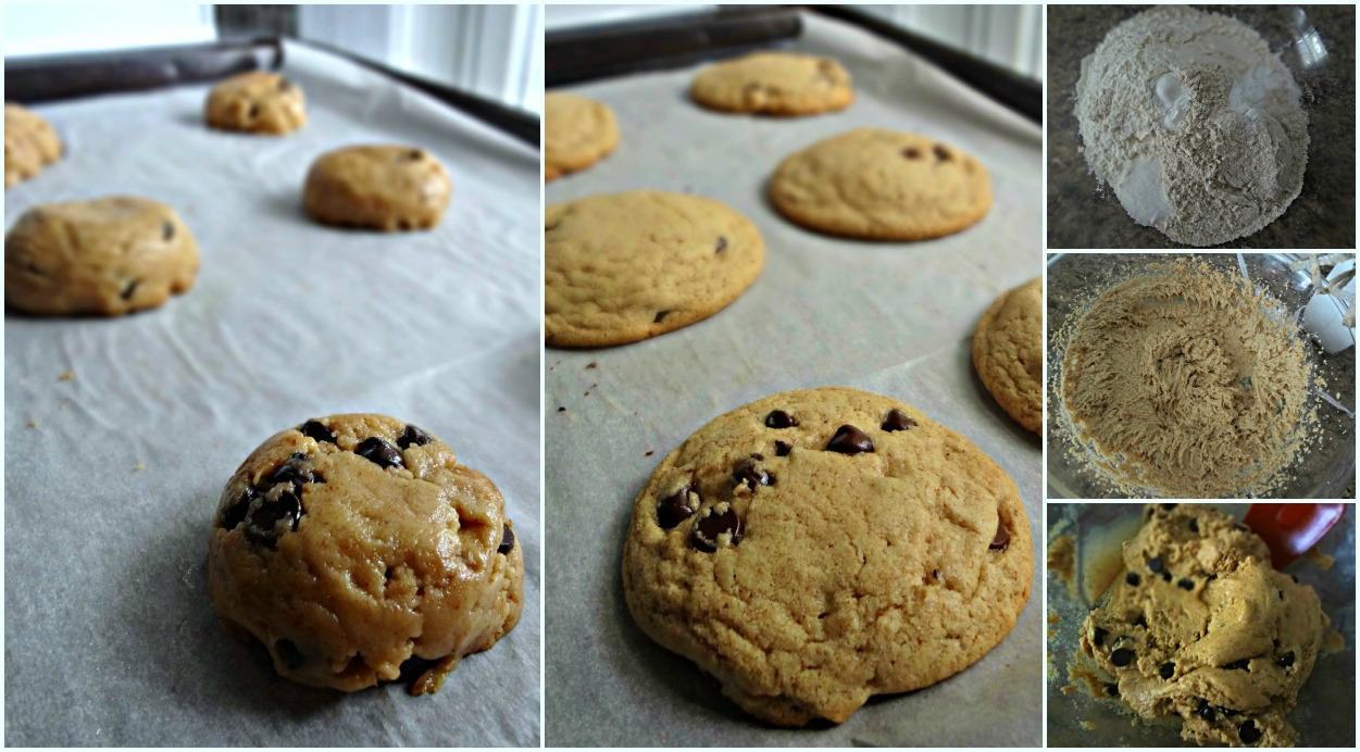 The Cooking Actress: Almond Butter Chocolate Chip Cookies