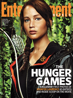First Look: Jennifer Lawrence as Katniss Everdeen