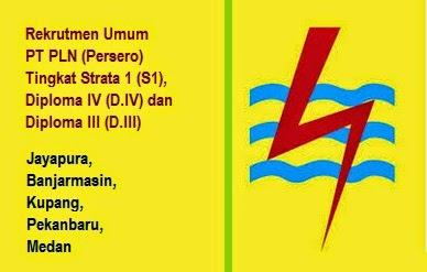 Loker Terbaru BUMN PLN (Persero) Lulusan D.III/D.IV/S1 Maret 2015 di 5 Kota