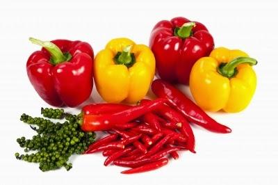 الفلفل الأحمرِ أحد أفضل مصادرِ فيتامين سي