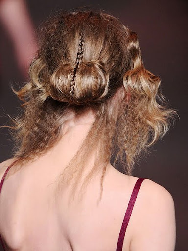 Christian Dior fall-winter 2011-2012 hairstyle