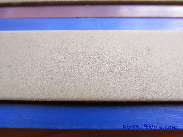 EZE-LAP DMD Fixed Angle Knife Sharpening System - Closeup Of Suer-Fine Stone
