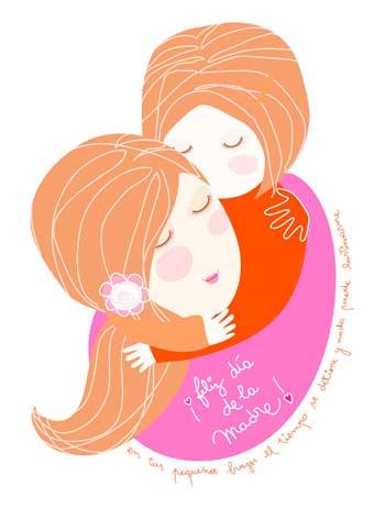 tarjeta y mensaje día de la madre