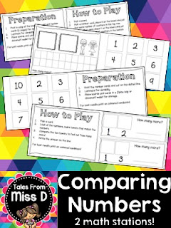 https://www.teacherspayteachers.com/Product/Comparing-Numbers-2191590