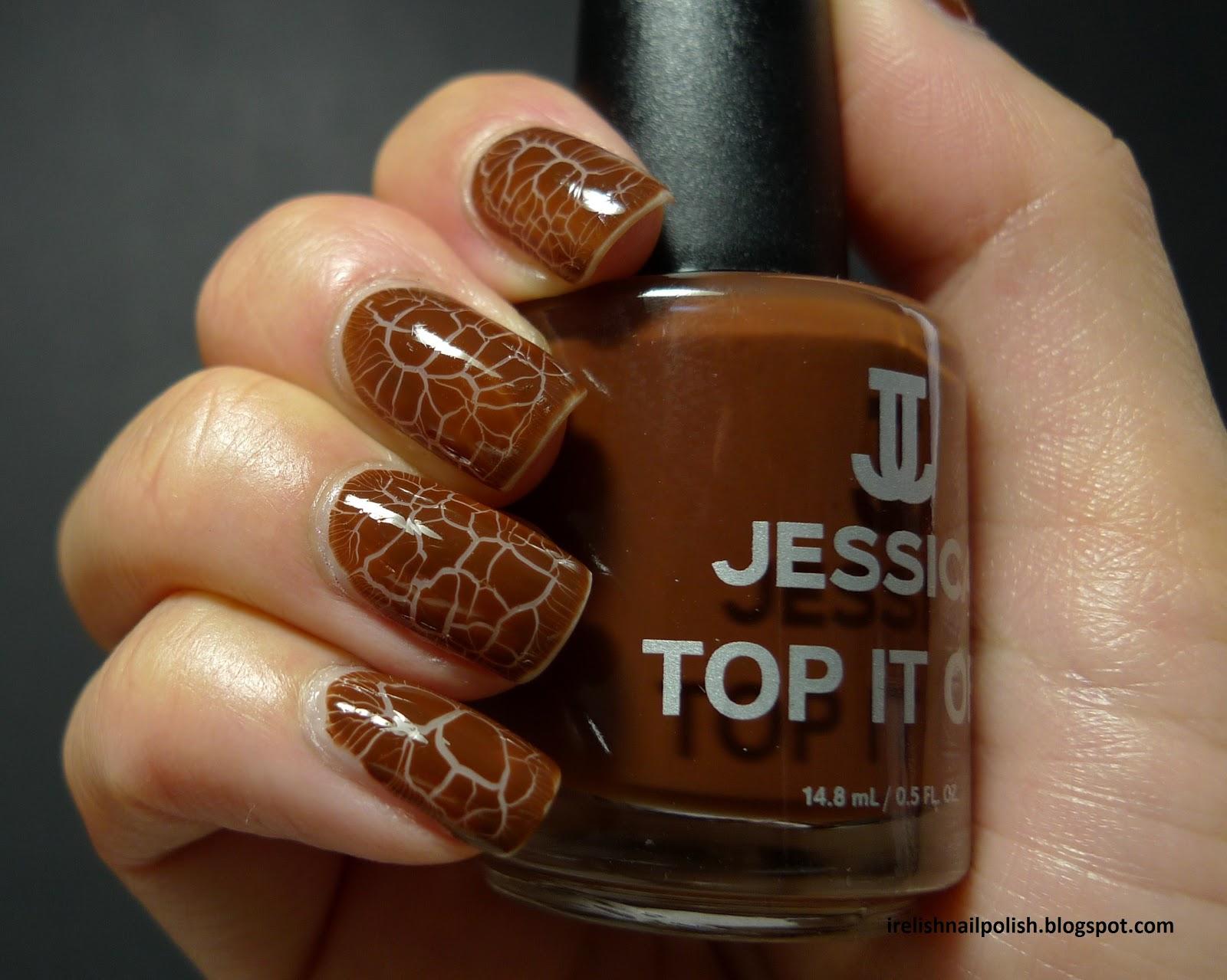 I Relish Nail Polish!: Jessica - Crocodile Crackle